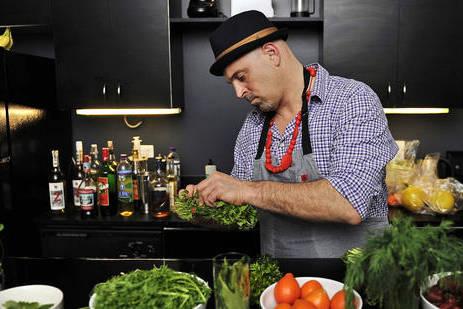Bartender Matthew Biancaniello