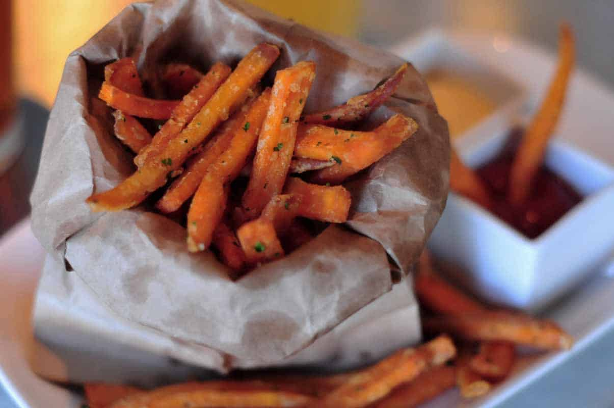 The Fat Dog Sweet Potato Fries