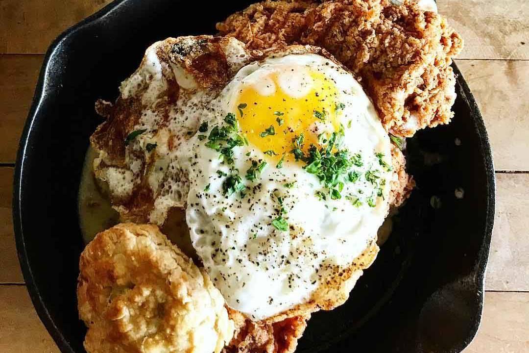 THE FAT DOG Chicken-Fried Chicken